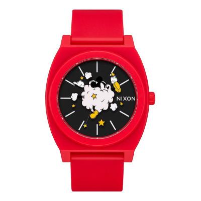 NIXON RELOJ TIME TELLER P RED/BLACK/FIGHT CLOUD