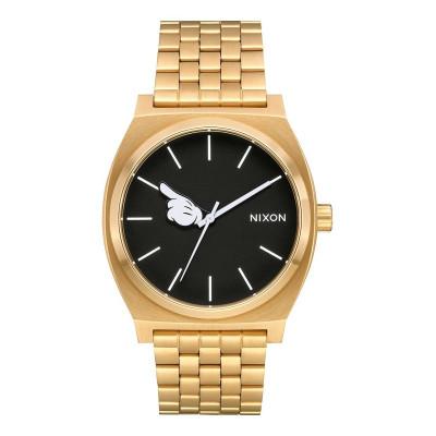 NIXON RELOJ TIME TELLER GOLD/BLACK/MICKEY HAND
