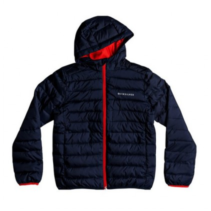 QUIKSILVER CHAQUETA SCALY BLUE/RED