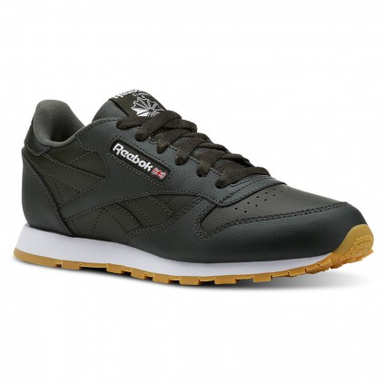 REEBOK ZAPAS CLASSIS LEATHER DARK CYPRESS