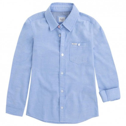 PEPE JEANS CAMISA HARRY JR CHAMBRAY