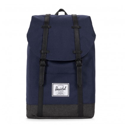 HERSCHEL MOCHILA RETREAT PEACOAT BLACK