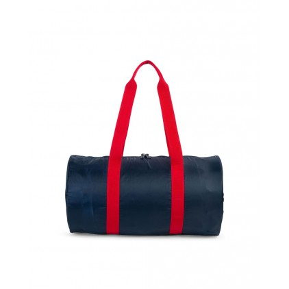 HERSCHEL BOLSA PACKABLE DUFFLE NAVY/RED