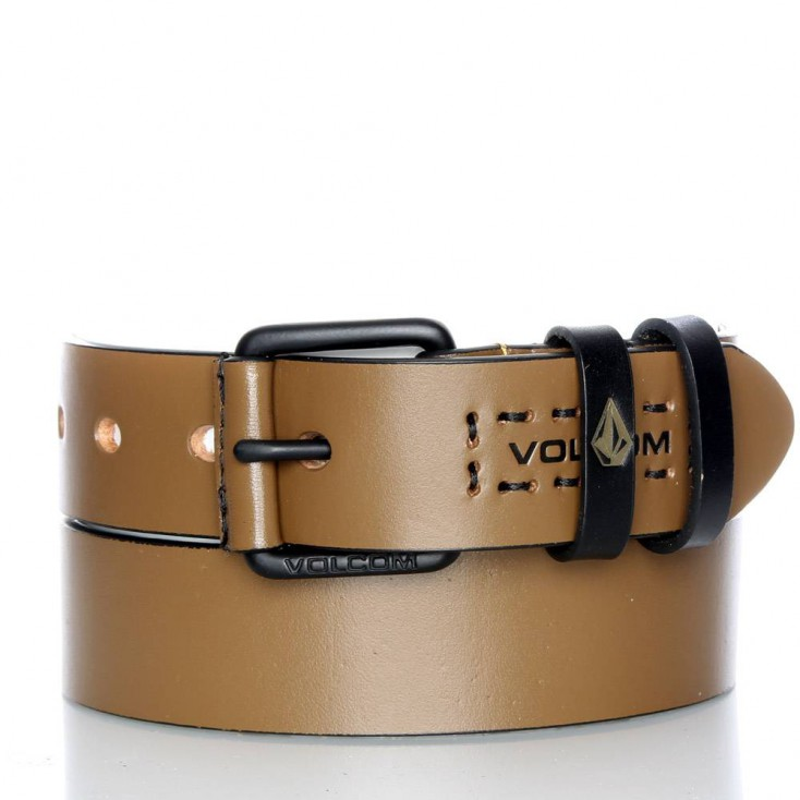 VOLCOM CINTURON MARTY LEATHER BELT RST
