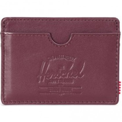 HERSCHEL CARTERA CHARLIE LEATHER WINE