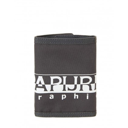 NAPAPIJRI CARTERA HAPPY DARK GREY