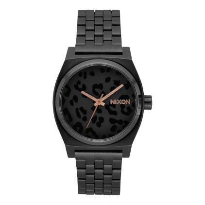 NIXON RELOJ TIME TELLER ALL BLACK/CHEETAH