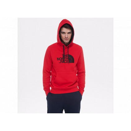 THE NORTH FACE SUDADERA DREW PEAK PLV HD SALSA RED