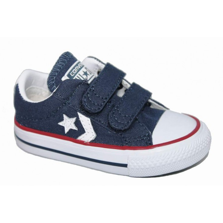 CONVERSE ZAPAS STAR PLYR 3V OX NAVY WHITE RED