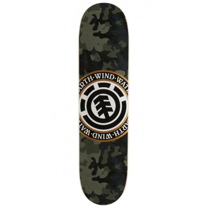 ELEMENT TABLA SKATE BARK CAMO SEAL 8.0