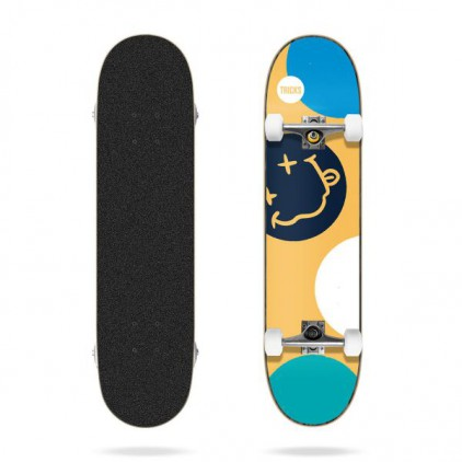 TRICKS SKATEBOARD CRAZY 7.25""
