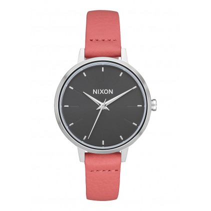 NIXON RELOJ KENSINGTON LEATHER  RED