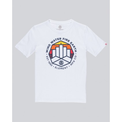 ELEMENT CAMISETA PASSAGE OPTIC WHITE