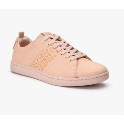 LACOSTE ZAPAS CARNABY EVO LACE UP NATURAL/GOLD