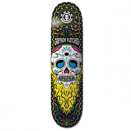 "ELEMENT TABLA SKATE 8.5"" CALAVERA GREYSON"