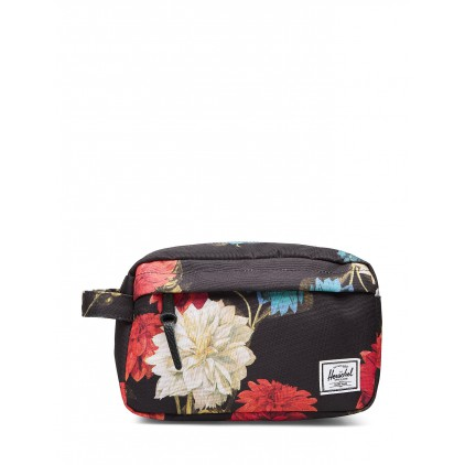 HERSCHEL NECESER CHAPTER CARRY ON VINTAGE FLORAL BLACK