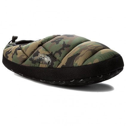 THE NORTH FACE ZAPATILLAS BURNT OLIVE GREEN WOODS CAMO PRINTTNF BLACK