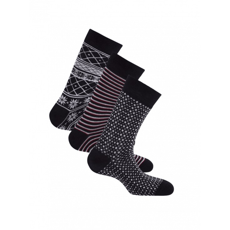PEPE JEANS CALCETINES MAXEY DARK NAVY PACK 3