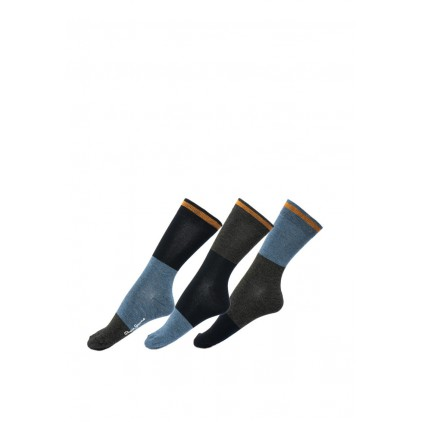 PEPE JEANS CALCETINES ROSWELL CHARCOAL BLUE 3 PACK