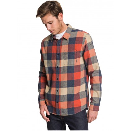 QUIKSILVER CAMISA MOTHERFLY FLANNEL
