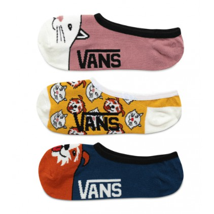 VANS CALCETINES INVISIBLES BEST BUD 3 PACK