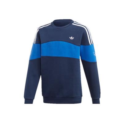 Sudadera Crew Adidas Bandrix Blue White