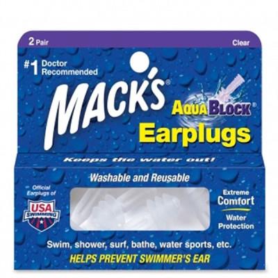 Surf ears MACKS TAPONES CLEAR