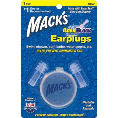 Surf ears MACKS AQUA BLOCK CLEAR