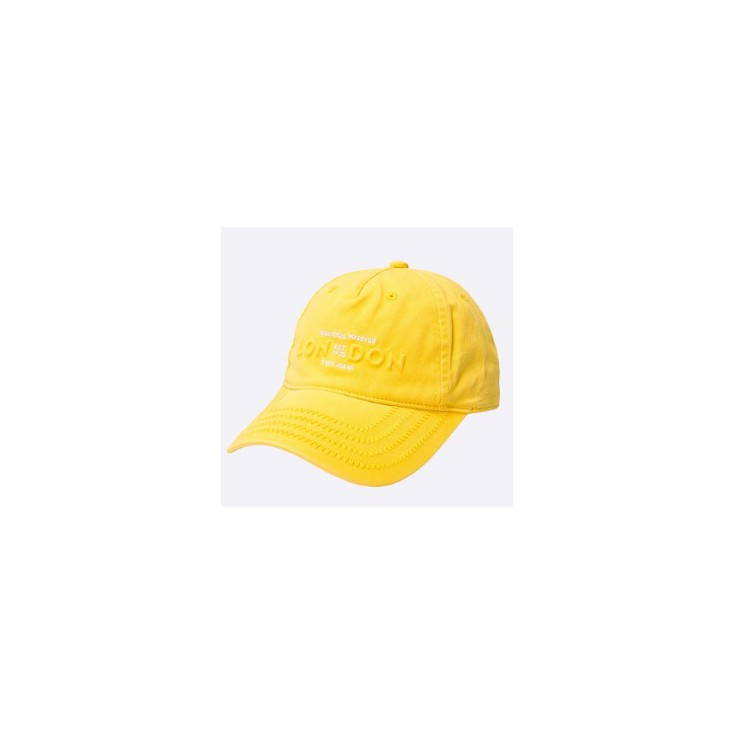 PEPE JEANS GORRA PEACH UNISEX JUNIOR BRIGHT/YELLOW