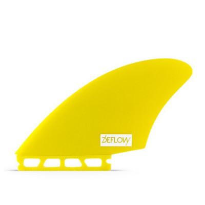 DEFLOW QUILLAS SURF KEEL YELLOW