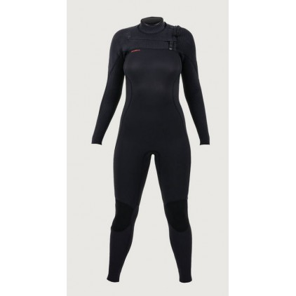 Neopreno surf invierno O'Neill 5/4 Hyperfreak + Chest Zip Full BLK