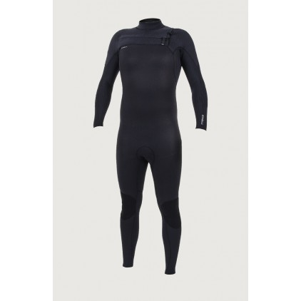 Traje de surf de invierno O'neill 5/4 Hyperfreak Chest Zip Full Black