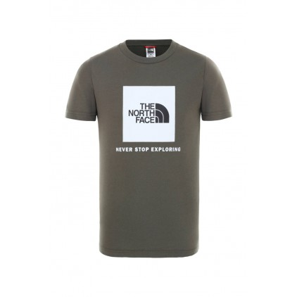 THE NORTH FACE CAMISETA BOX GREEN