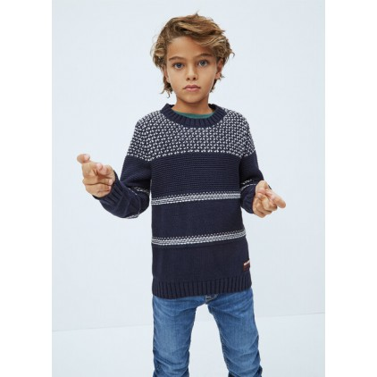PEPE JEANS JERSEY CLARENCE DEEP SEA