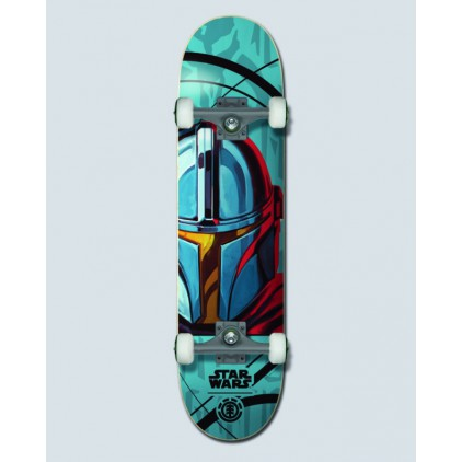 "ELEMENT SKATE STAR WARS 7.75"" MANDO"