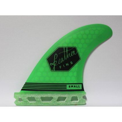 FEATHER FINS QUILLAS ULTRA LIGHT VERDES SISTEMA FUTURE
